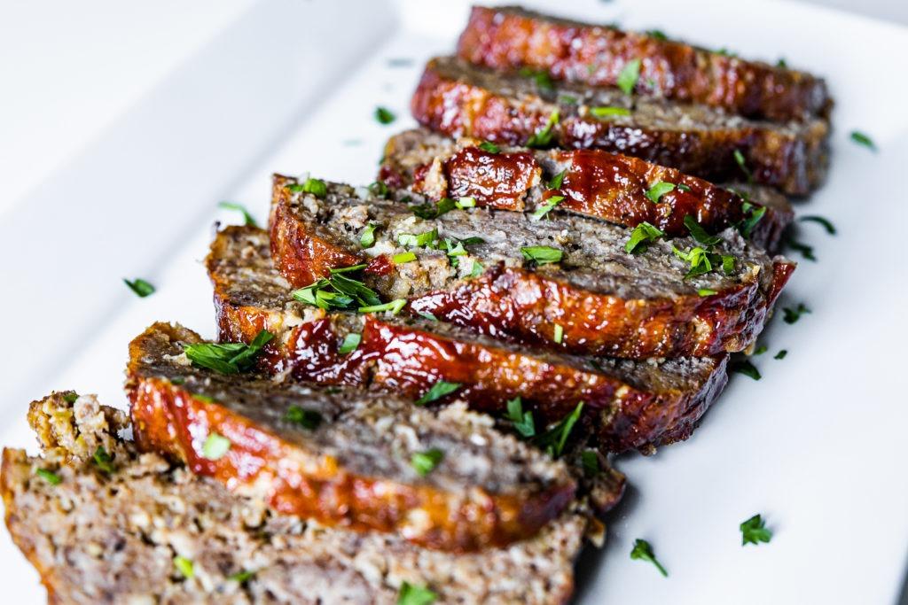 tender, flavorful meatloaf