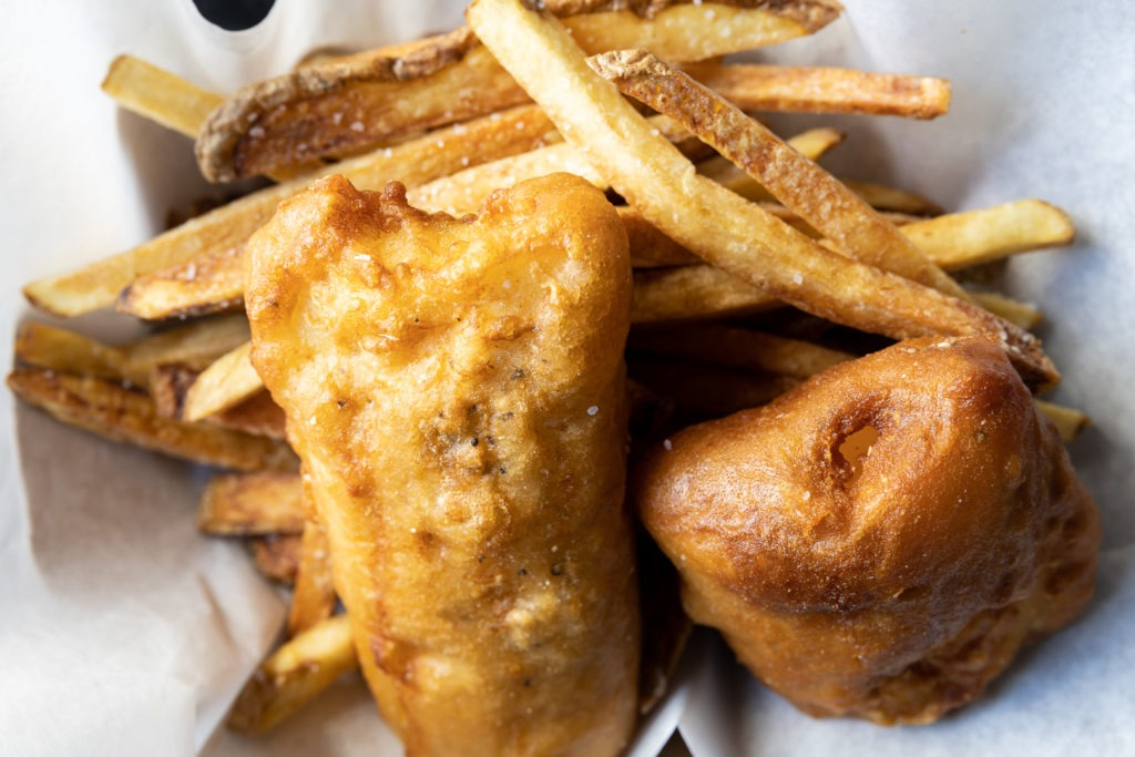 Tasty fish and chips
