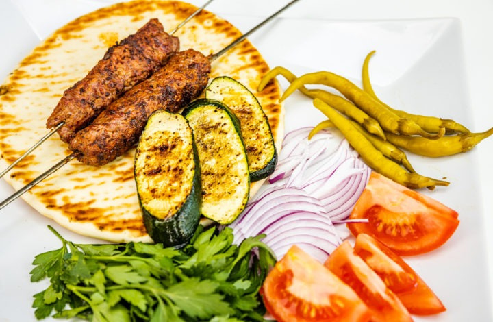 Grilled Turkish Lamb Kebabs