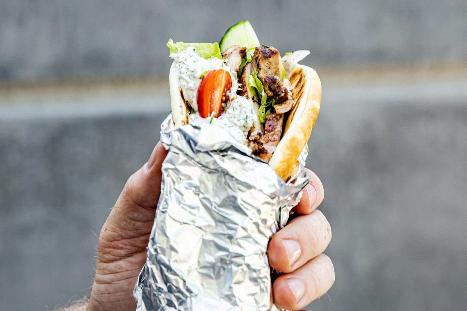 Chicken shawarma wrap recipe