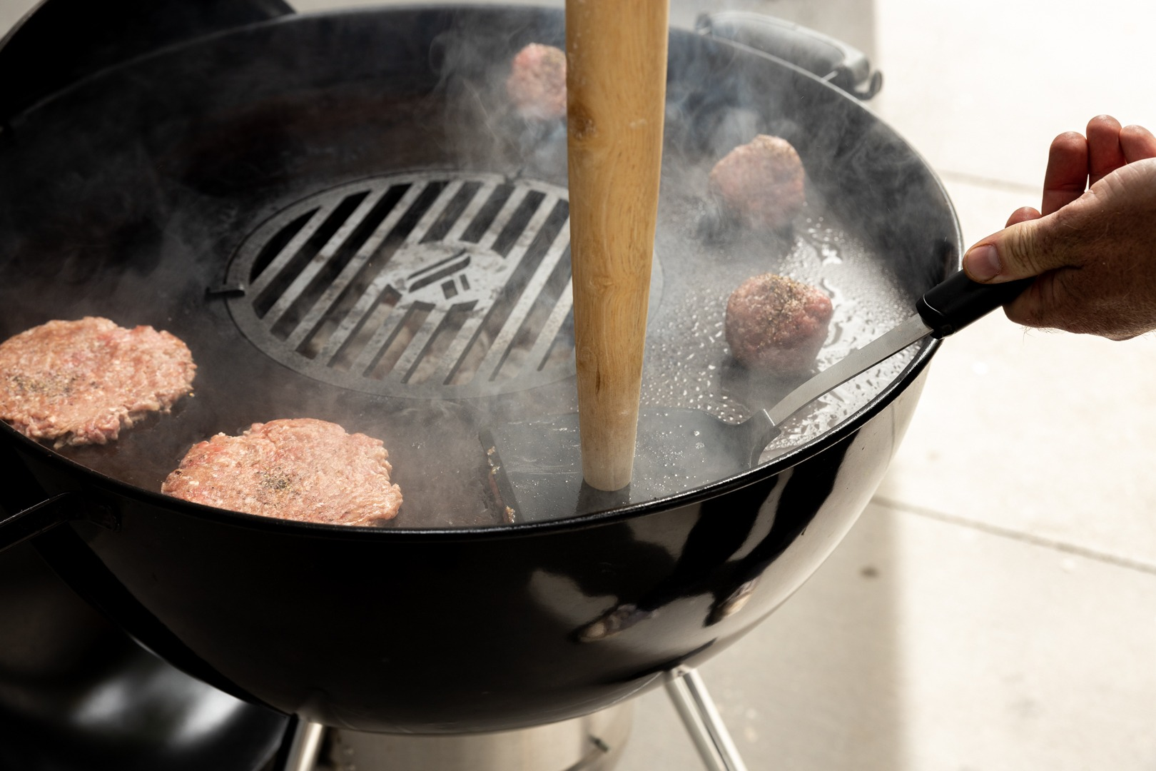 Make Juicy Smash Burgers At Home Thermoworks