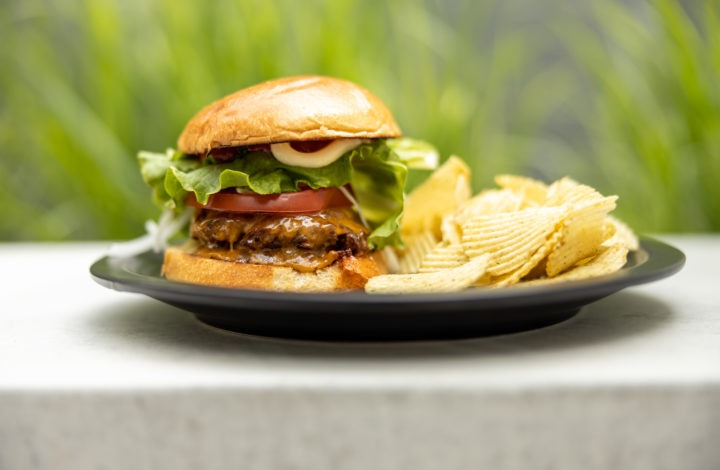 Grilled burger