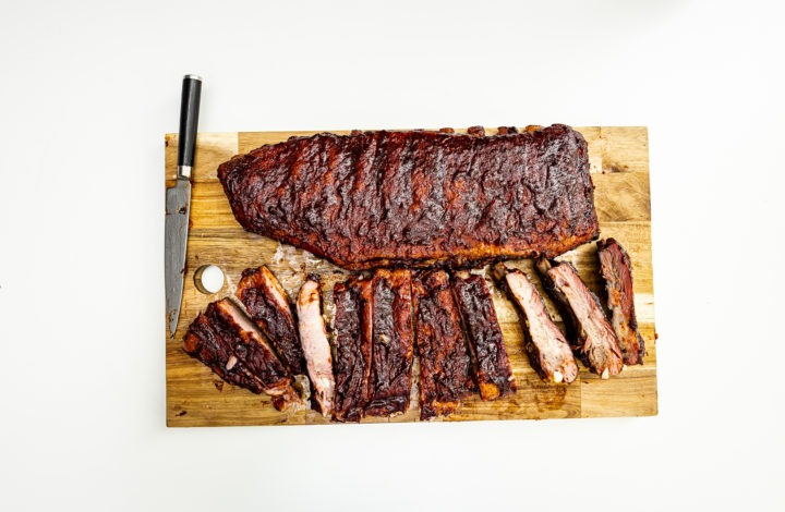 Cherry soda ribs