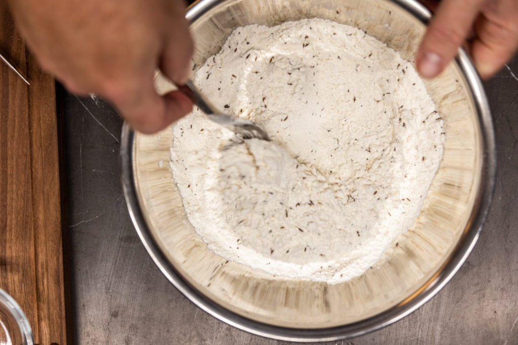 Seeds in the flour