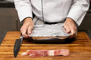 Wrapping the pâté