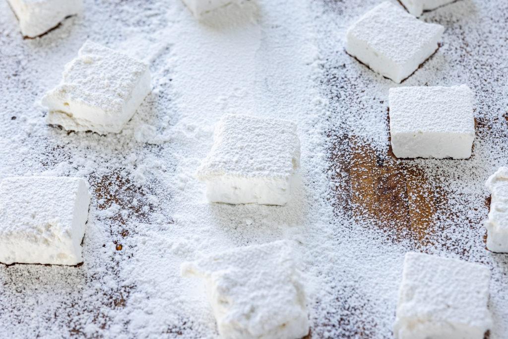 Homemade marshmallows