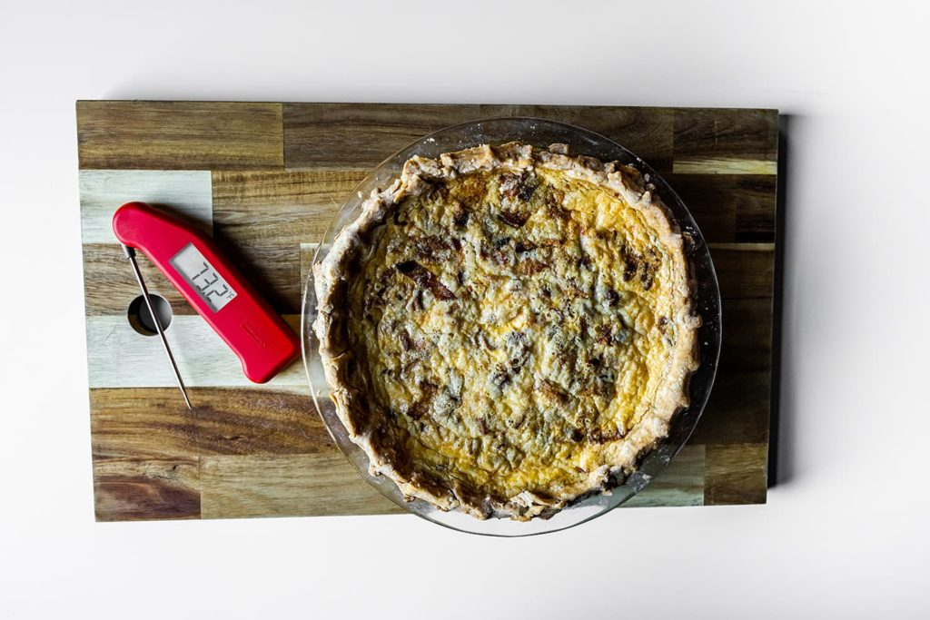 Quiche and a Thermapen