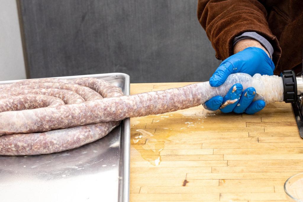 Stuffing the sausage
