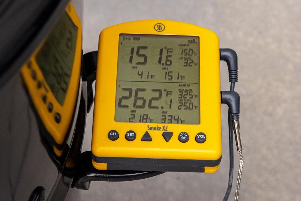 Smoke X2 thermometer