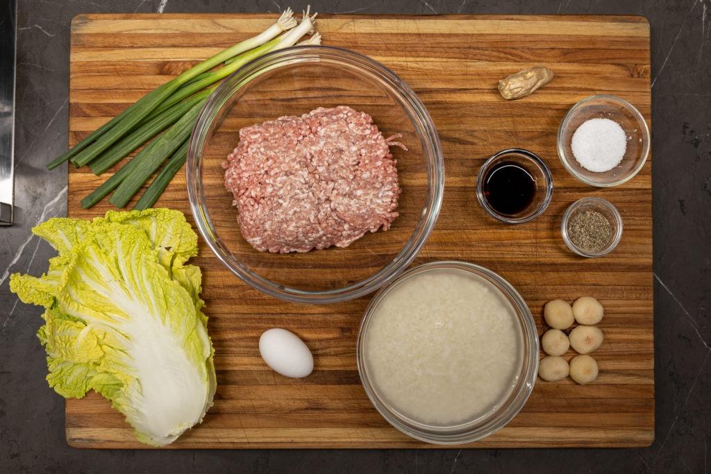 Pearl meatball ingredients