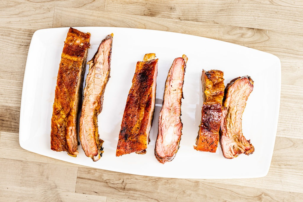 six ribs, two of each kind