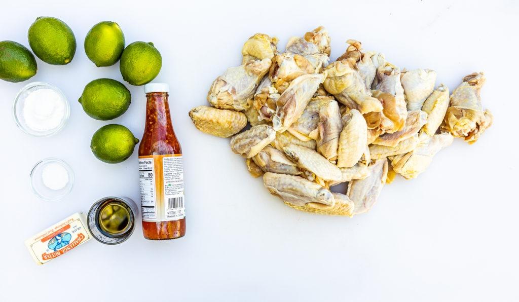 Chicken wing ingredients