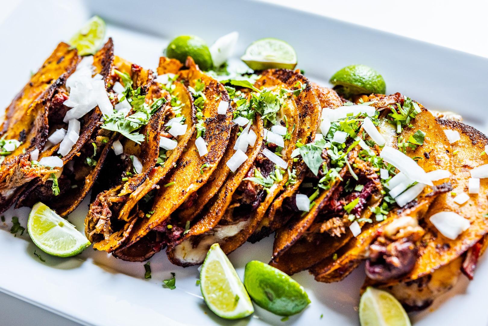 Quesabirria (birria tacos)