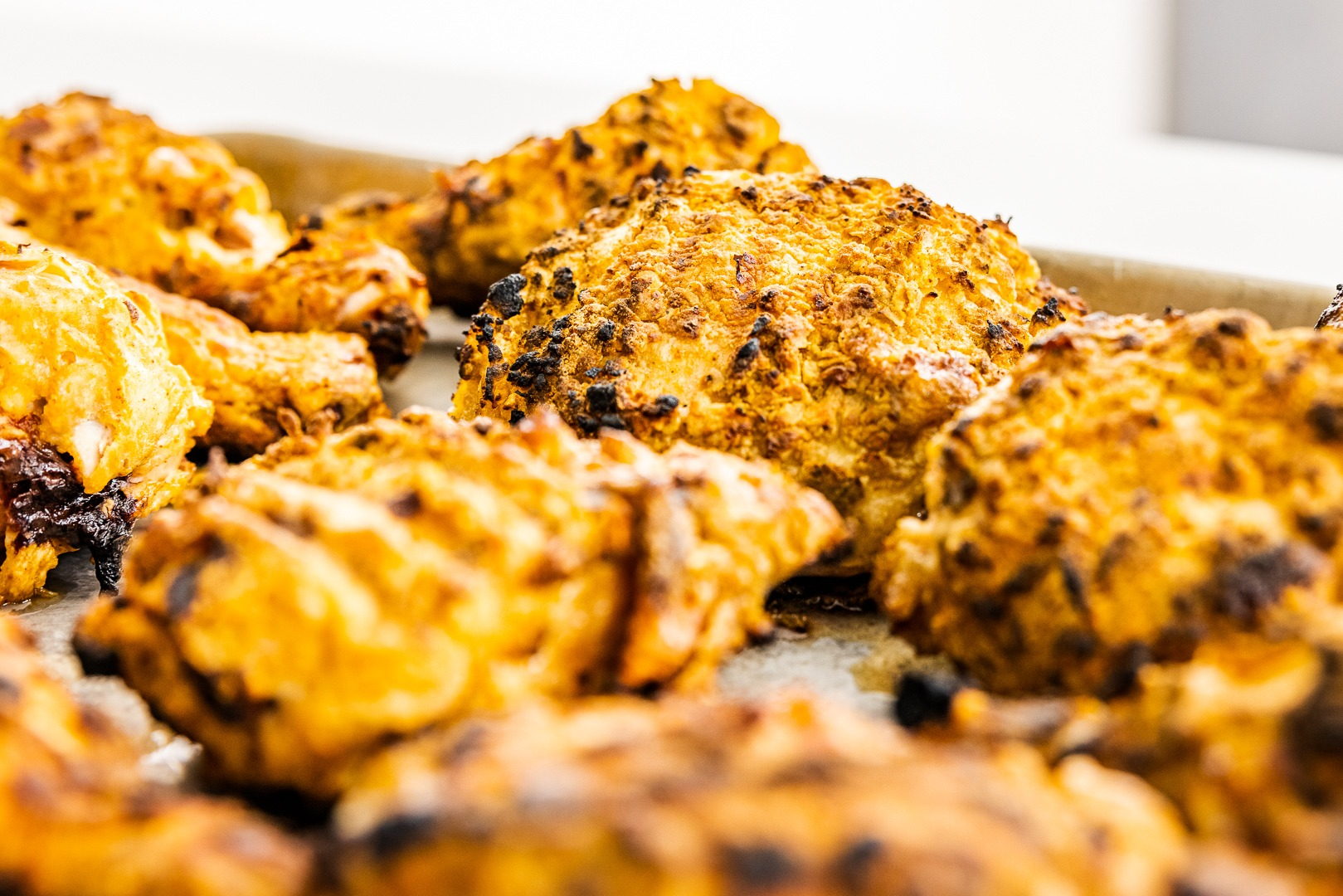 Grilled air-fried chicken