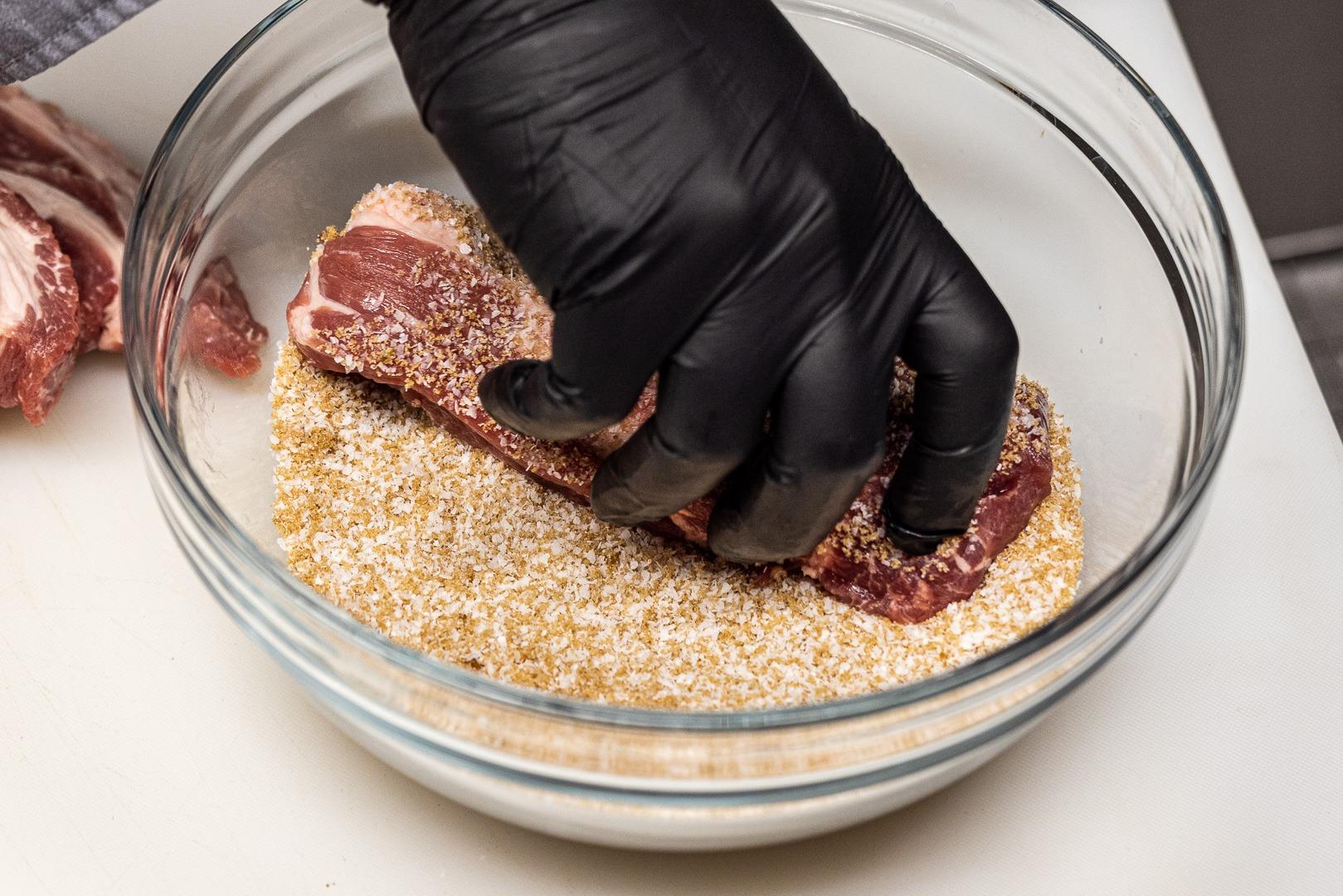 dredging pork in cure
