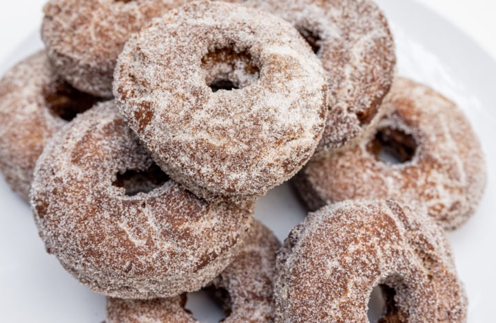 Delicious homemade cider donuts