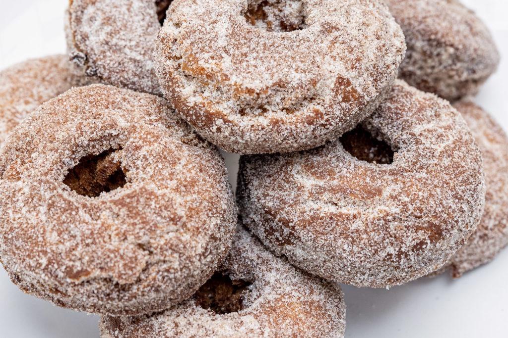 Fresh, homemade apple cider donuts
